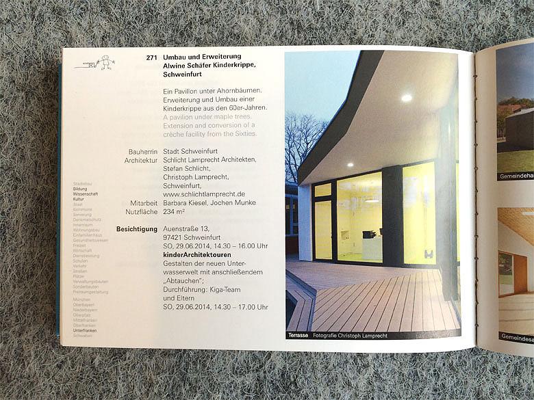 Architekten Schweinfurt architektouren 2014 schlicht lrecht architekten schlicht